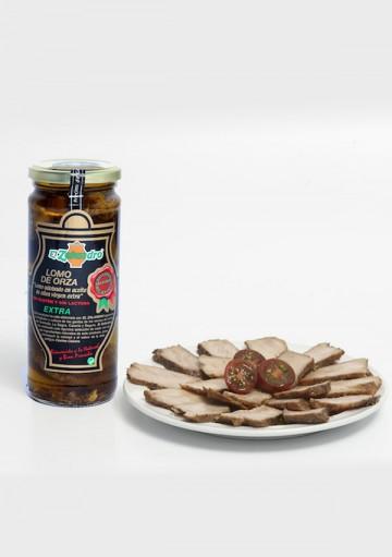 Lomo de orza à l'huile d'olive extra vierge, 425 gr.