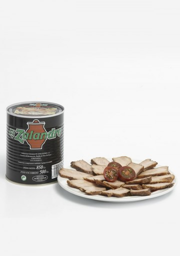 Lomo de Orza in a can. 850 gr.