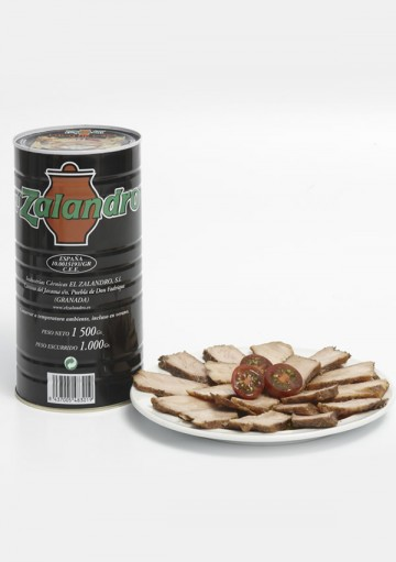 Lomo de Orza in a can. 1500 gr.