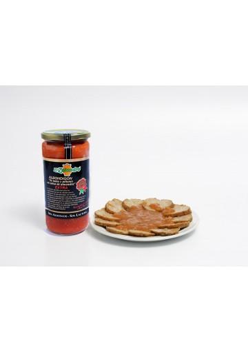 Albondigón de lomo y piñones en salsa de almendras, Unid. 700 gr.
